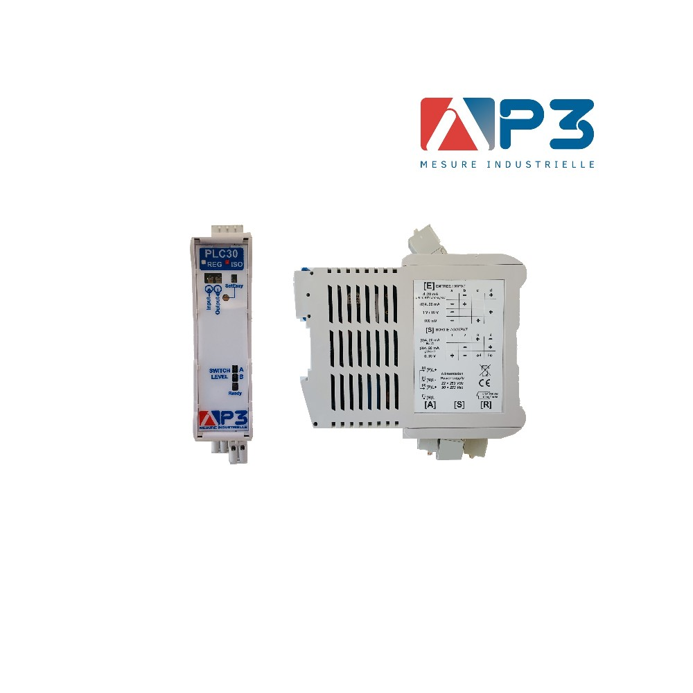 CONVERTISSEUR UNIVERSEL COURANT-TENSION CONFIGURABLE PLC30-ISO